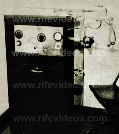 Rife Virus Microscopes And Electron Therapy